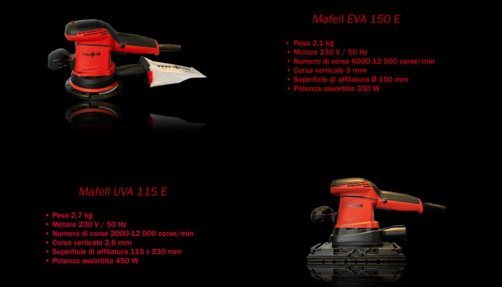 Negozio Mafell - eva 150 e - UVA 115 E