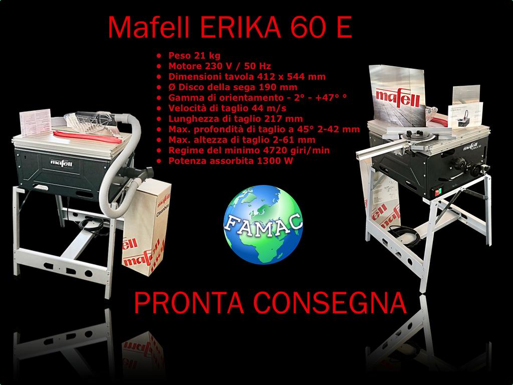 Mafell Erika 60 E - Pronta consegna